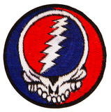 Ying Yang Grateful Dead Patch LSD music band vintage cult embroidery art for sew on psychedelic deadhead gratefuldead in the Tao application
