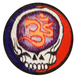 AUM Grateful Dead Patch LSD music band vintage cult embroidery art for sew on psychedelic deadhead gratefuldead in the Tao application