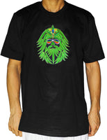 Medical Cannabis T-Shirt hippie weed goa tshirt psychedelic goa trance THC spirit marihuana healing hemp embroidery shirt