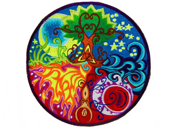Gaia Mandala Patch
