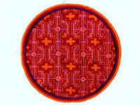 Ayahuasca Patch Red Yage Visionary Artwork