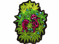 Dancing Mushrooms Patch Weed Cannabis Marihauna