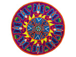 Butterfly Huichol Mandala Patch