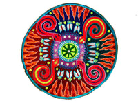 Snake Huichol Artwork