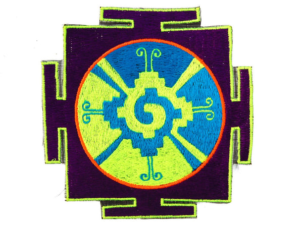 Purple-Blue Hunab Ku Patch