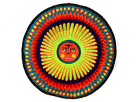 Huichol Sun Artwork