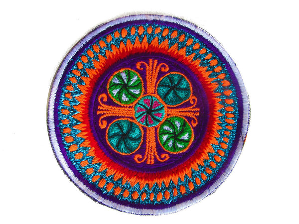 peyote mandala patch