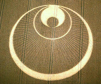 the angel flower mandala crop circle rainbow fractal ufo mystery