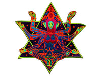 Merkabha Goddess patch Psychedelic psy patch drunvalo melchizedek