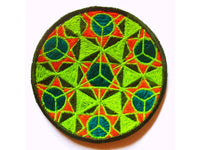 infinity small patch 8cm holy art sacred geometry