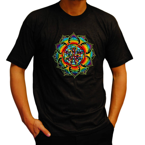 1000 Eyes T-Shirt psychedelic LSD consciousness design no print goa t-shirt