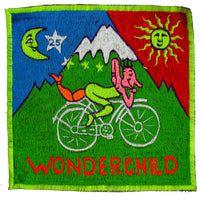 Wonderchild LSD Hofmann T-Shirt blacklight handmade embroidery no print psy t-shirt