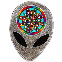 1000 alien eyes patch Patch LSD consciousness acid head extraterrestrial awareness