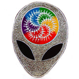 Alien Milk Hill mandala crop circle rainbow fractal ufo mystery caleidoscope