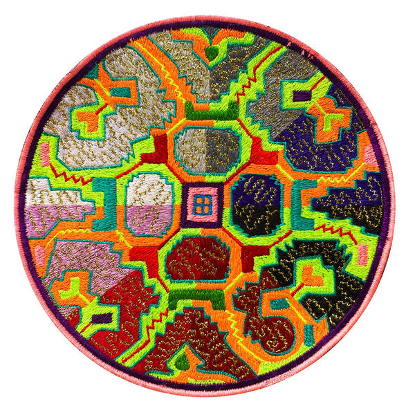 Quattro Stagiones Ayahuasca Patch Visionary DMT Artwork Yage Pizza