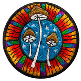 magic mushrooms patch small size psilocybin ufo seti holy three triangle of life