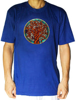 Tree of Life shirt flower of life - sacred geometry embroidery no print drunvalo melchizedek handmade - choose any colour and size