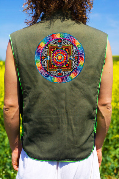 aum tankar - Design your jacket in any colours -handmade in your size blacklight active 1 zip lock inside pocket