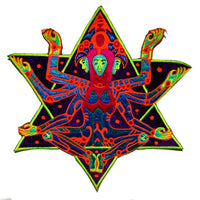 merkabha queen - Design your jacket in any colours -handmade in your size blacklight active 1 zip lock inside pocket