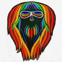 rainbow spirit - Design your jacket in any colours -handmade in your size blacklight active 1 zip lock inside pocket