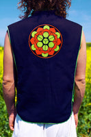 platos beauty - Design your jacket in any colours -handmade in your size blacklight active 1 zip lock inside pocket