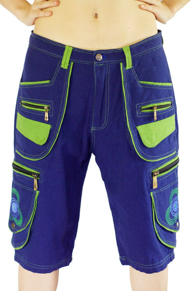 Goa Hippie Pant any size clamdiggers 8 pockets made after order also customizable