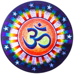 Spiritual AUM Rainbow Sun Patch starseed blacklight glowing embroidery