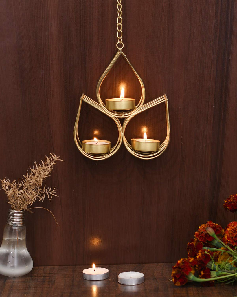 India Iron Wall Hanging Tealight Candle Holder Metal Wall Art Sconce F Eco Hometown