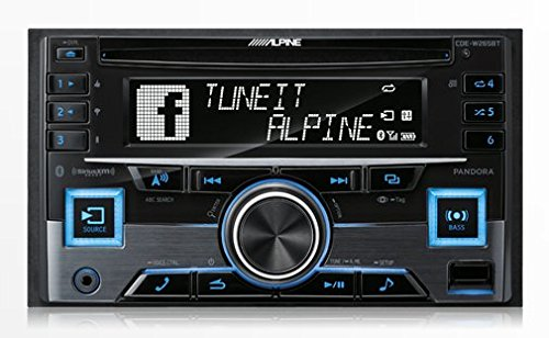 Alpine CDE-W265BT Double DIN Bluetooth In-Dash CD/AM/FM Receiver w/ App Direct Mode