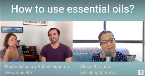 how to use essential oils interview with oleu life