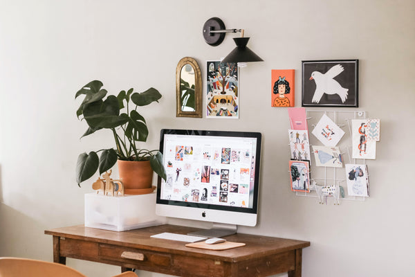 declutter workspace