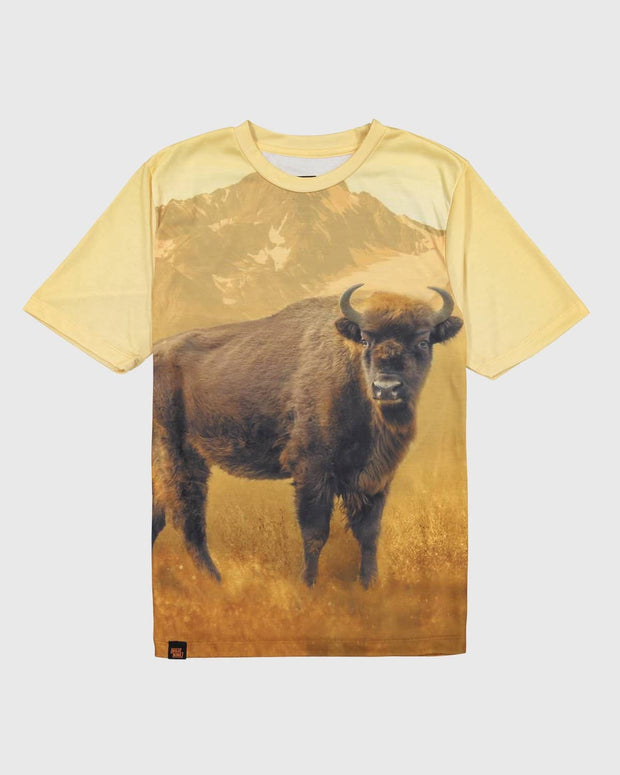 Sublimated Animal T-Shirt - American Bison