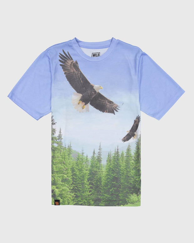 Sublimated Animal T-Shirt - Bald Eagle