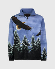 Full-Zip Fleece Animal Sweatshirt - American Eagle