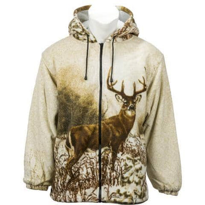 Kids Fleece Animal Hoodie - Whitetail Deer - Wildkind