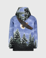Plush Sherpa Full-Zip Animal Hoodie - American Eagle