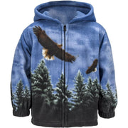 Toddlers Fleece Animal Hoodie - American Eagle - Wildkind