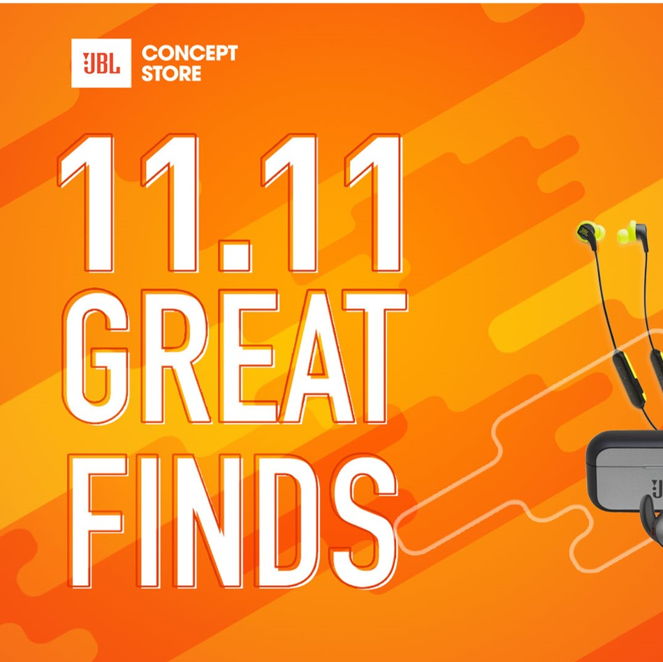JBL Store's 11.11 Great Finds That You Don't Want to Miss