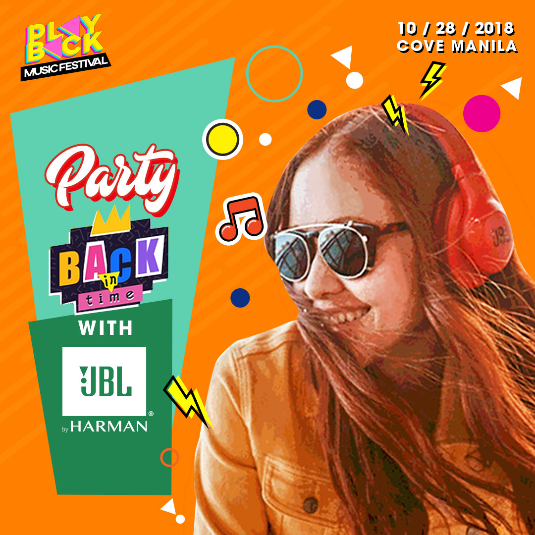 Party Back in Time with JBL Store