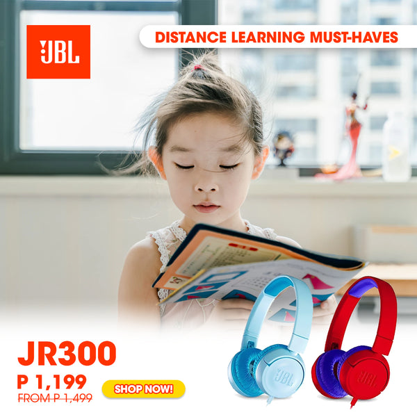 Distance Learning Must-Have - JBL JR 300