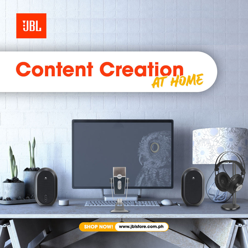 JBL Store's Guide to Content Creation at Home