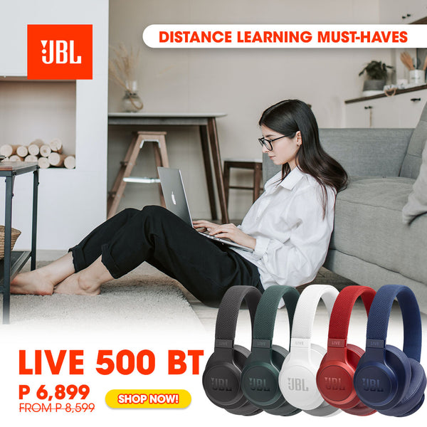 Distance Learning Must-Have - JBL LIVE 500BT