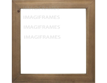 Life Is Good Rustic Mountain Brown Frame (12X12) $42