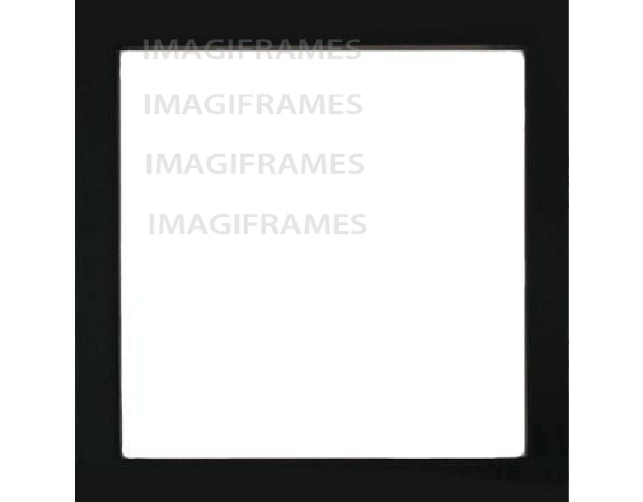 Live Laugh Bake Black Frame (5X5)