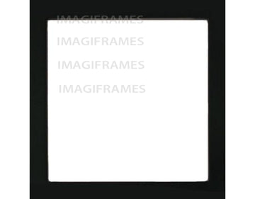 Live Laugh Score Baseball Black Frame (5X5)