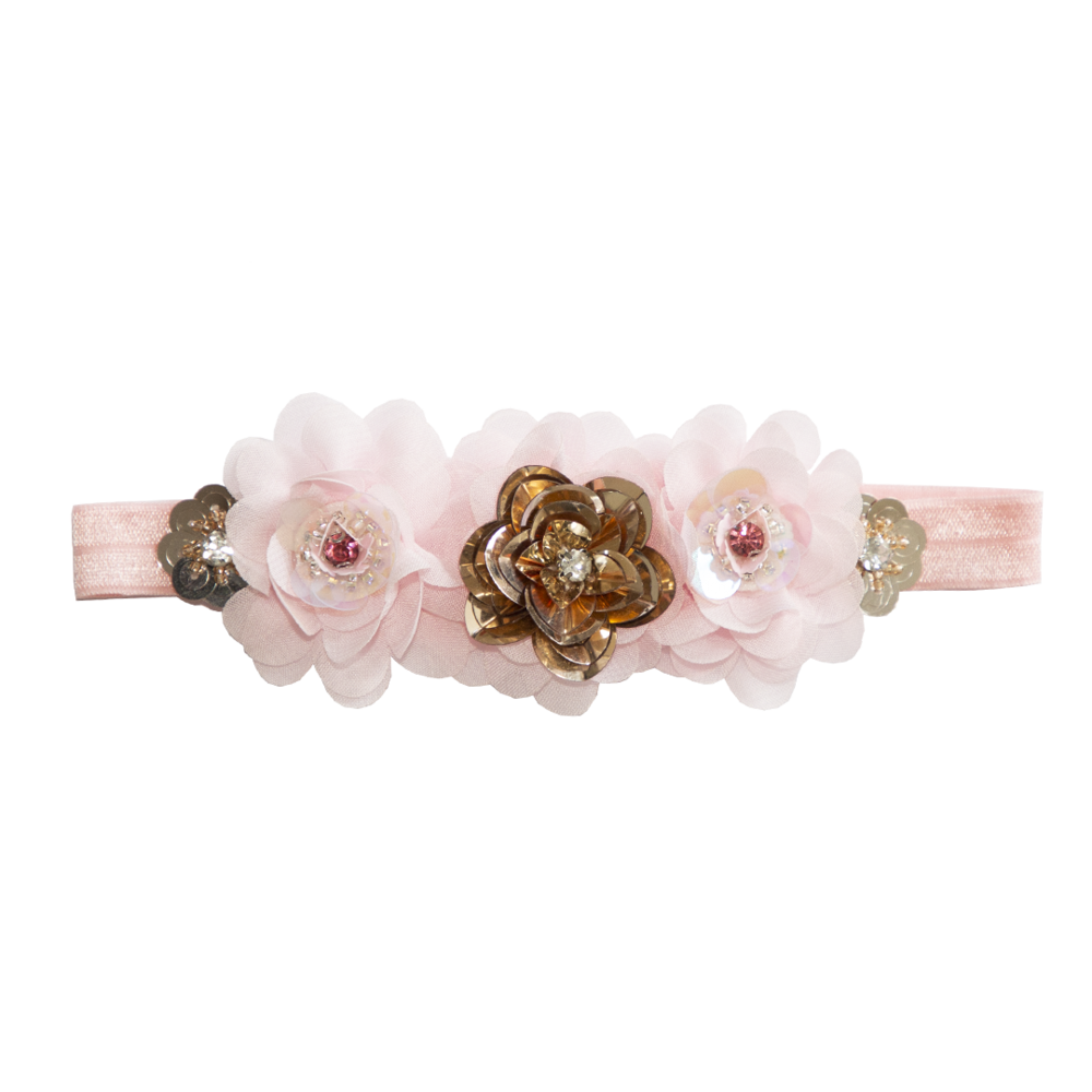 FLOWER HEADBAND ~ Delilah