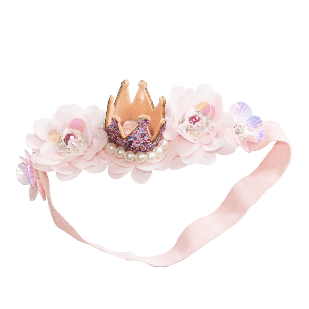 PRINCESS CROWN HEADBAND ~ Lacey