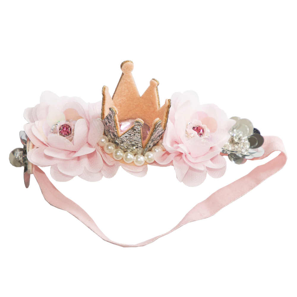 PRINCESS CROWN HEADBAND ~ Milly