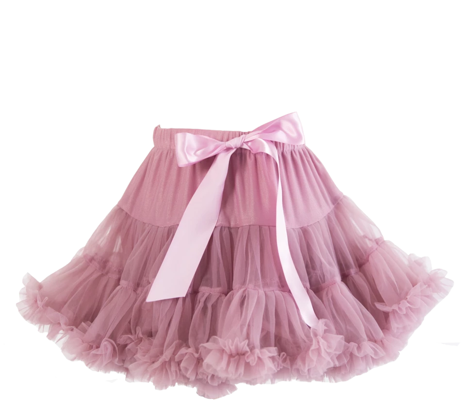 PARIS PETTICOAT TUTU ~ Dusty Rose