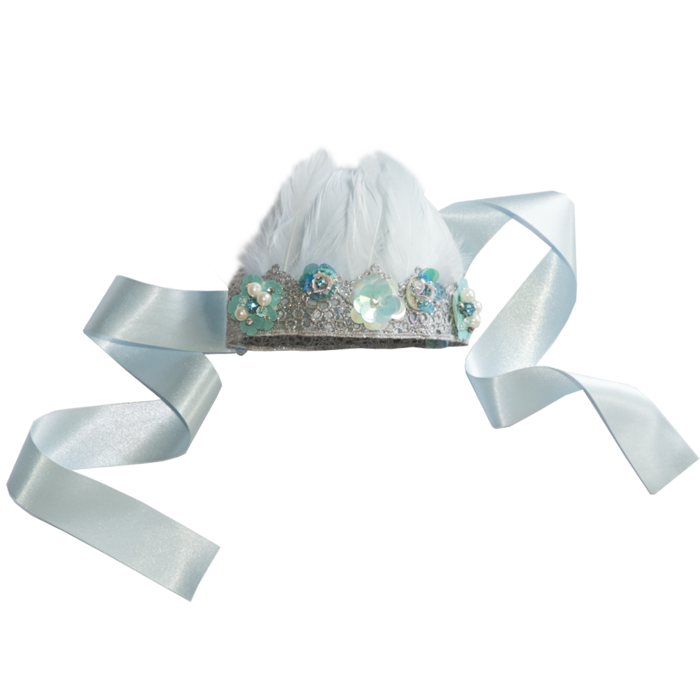 LACE PRINCESS CROWN ~ Daisy